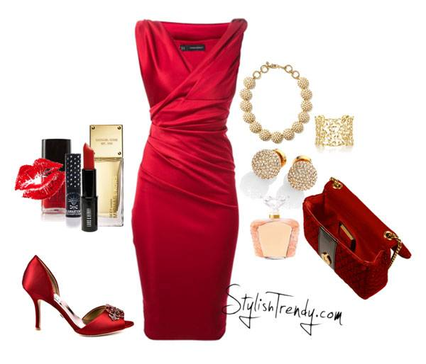 Valentine's Day 2014 Hair, Makeup and Outfit Ideas_01