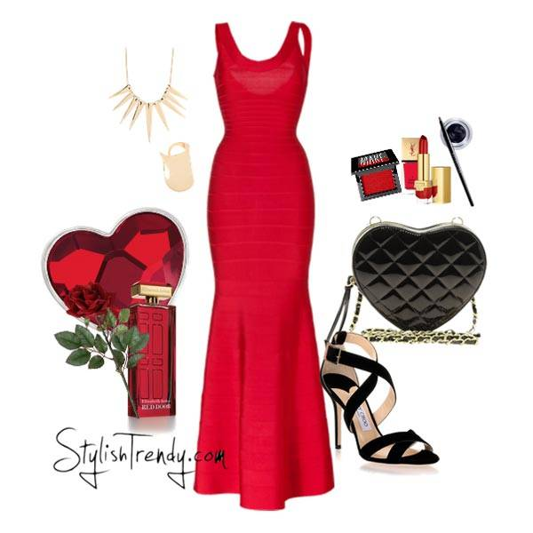 Valentine's Day 2014 Hair, Makeup and Outfit Ideas_03