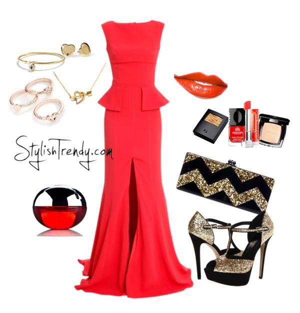Valentine's Day 2014 Hair, Makeup and Outfit Ideas_05