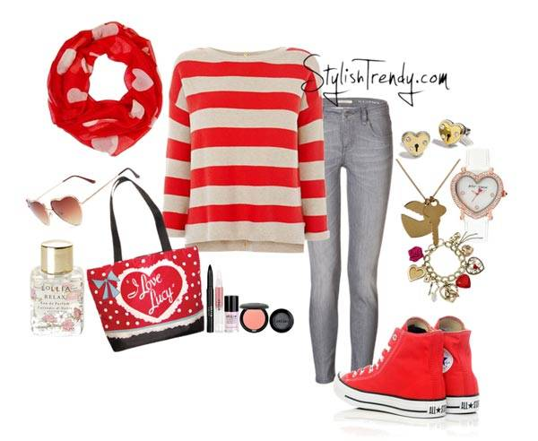 Valentine's Day 2014 Hair, Makeup and Outfit Ideas_06