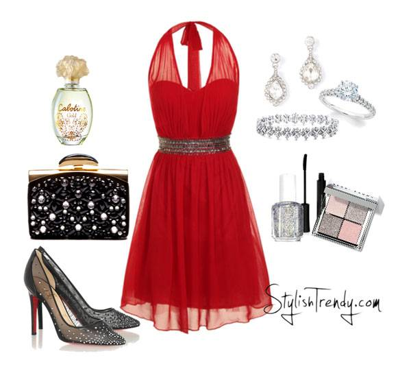 Valentine's Day 2014 Hair, Makeup and Outfit Ideas_10