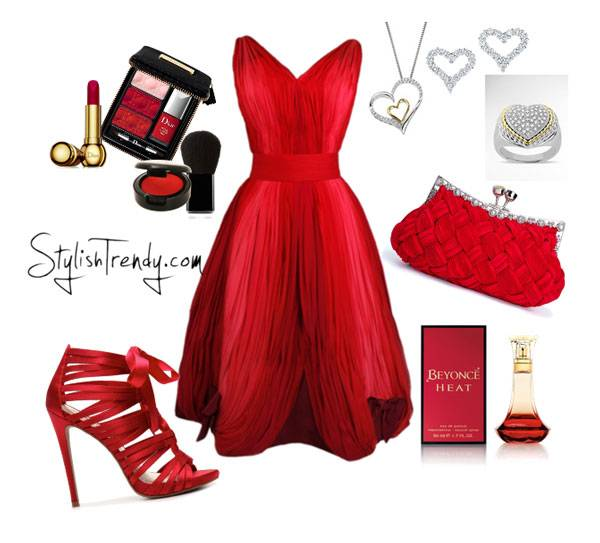 Valentine's Day 2014 Hair, Makeup and Outfit Ideas_12
