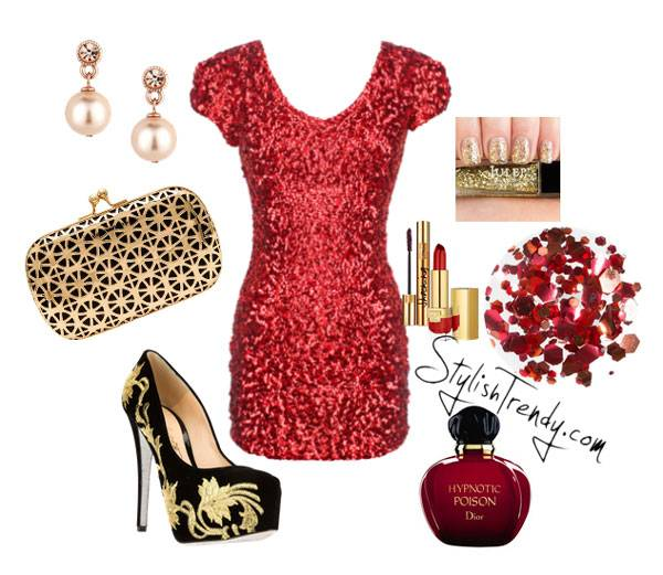 Valentine's Day 2014 Hair, Makeup and Outfit Ideas_13