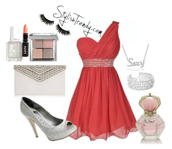 Valentine's Day 2014 Hair, Makeup and Outfit Ideas_14