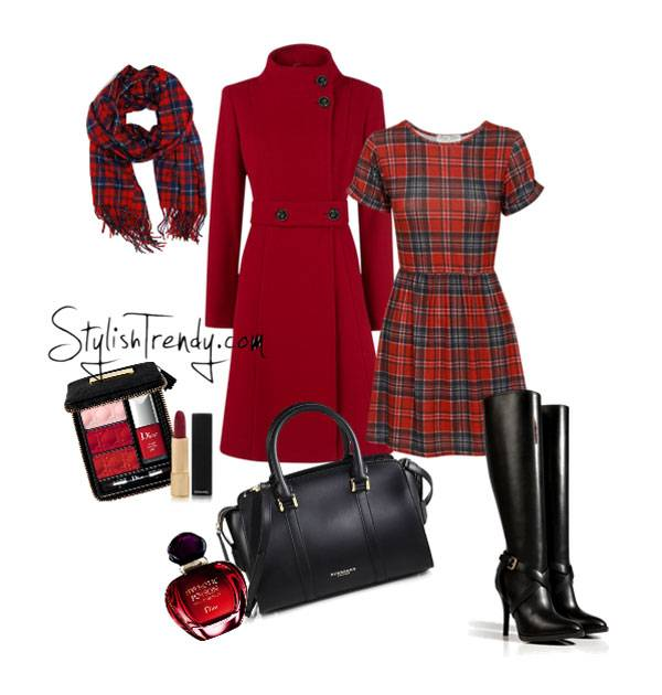 Valentine's Day 2014 Hair, Makeup and Outfit Ideas_15