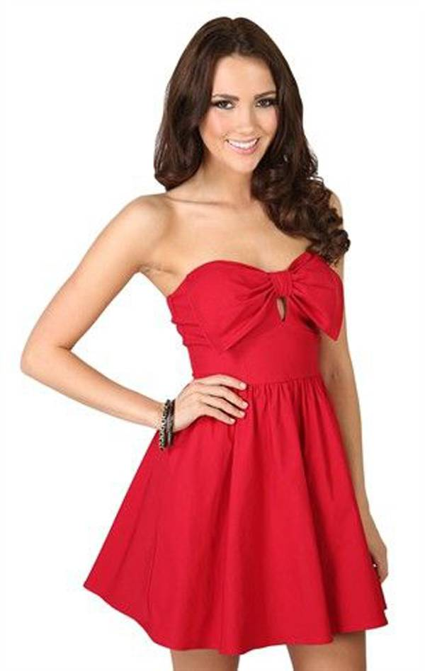 Valentine's Day 2014 Hair, Makeup and Outfit Ideas_16