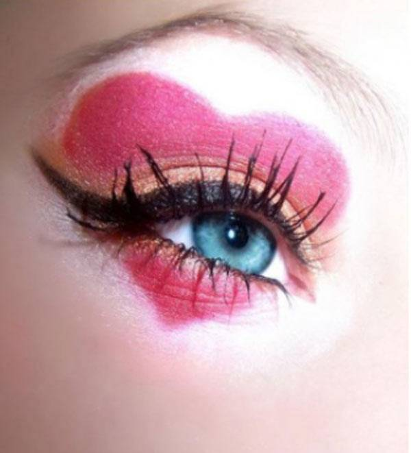 Valentine's Day 2014 Hair, Makeup and Outfit Ideas_22