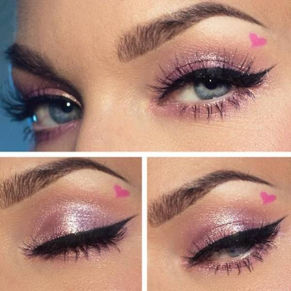 Valentine's Day 2014 Hair, Makeup and Outfit Ideas_23