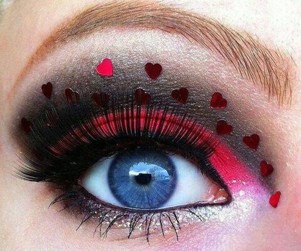 Valentine's Day 2014 Hair, Makeup and Outfit Ideas_28