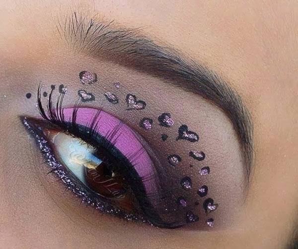 Valentine's Day 2014 Hair, Makeup and Outfit Ideas_31
