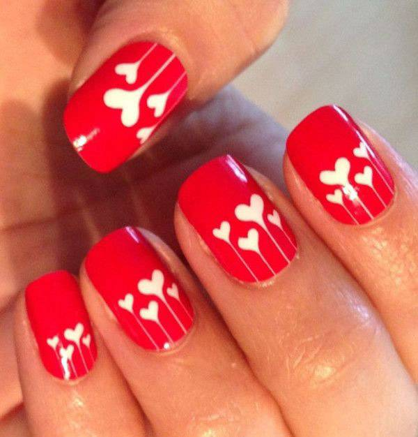 Valentine's Day 2014 Hair, Makeup and Outfit Ideas_46