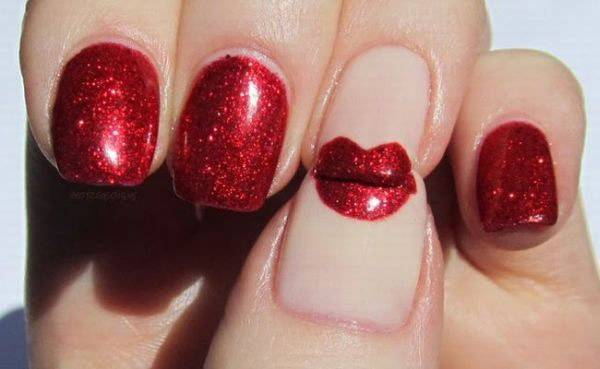 Valentine's Day 2014 Hair, Makeup and Outfit Ideas_47