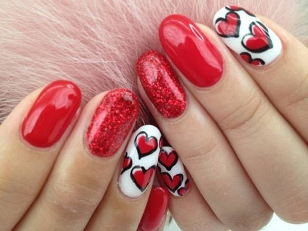 Valentine's Day 2014 Hair, Makeup and Outfit Ideas_49