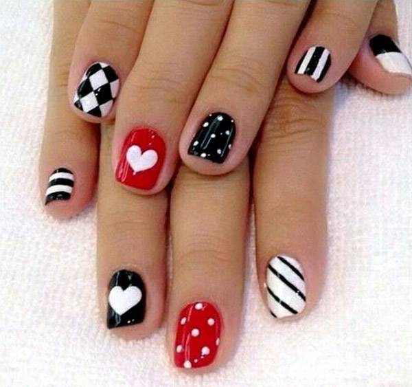 Valentine's Day 2014 Hair, Makeup and Outfit Ideas_59