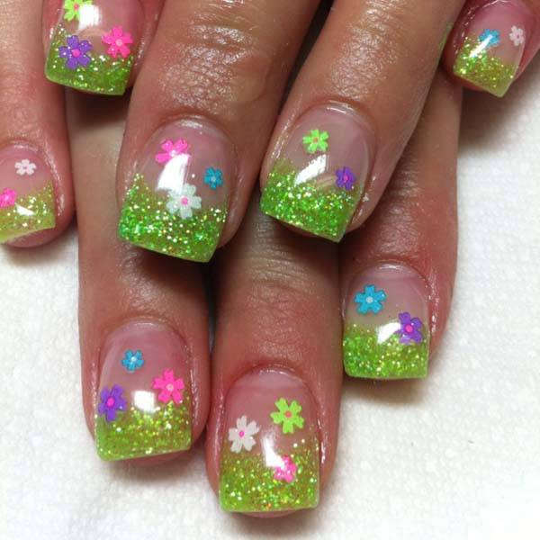 Easter 2014 Nail Art Designs Cute Hairstyles Ideas_07