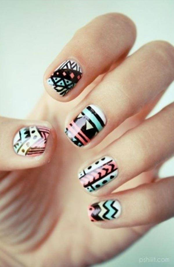 Easter 2014 Nail Art Designs Cute Hairstyles Ideas_12