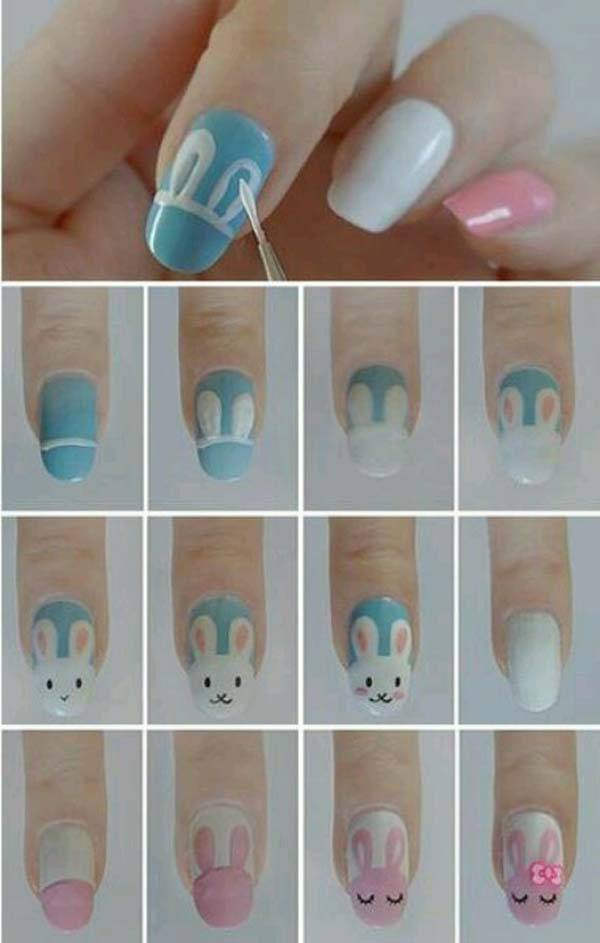Easter 2014 Nail Art Designs Cute Hairstyles Ideas_13