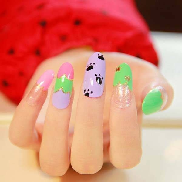 Easter 2014 Nail Art Designs Cute Hairstyles Ideas_24