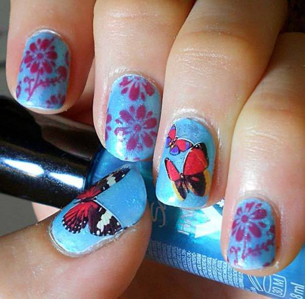 Easter 2014 Nail Art Designs Cute Hairstyles Ideas_27