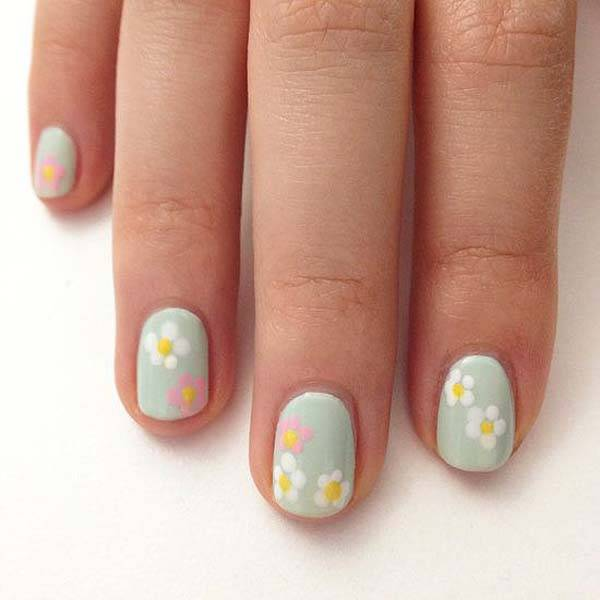 Easter 2014 Nail Art Designs Cute Hairstyles Ideas_29