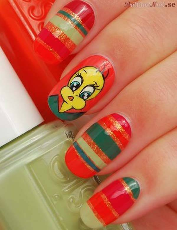 Easter 2014 Nail Art Designs Cute Hairstyles Ideas_30