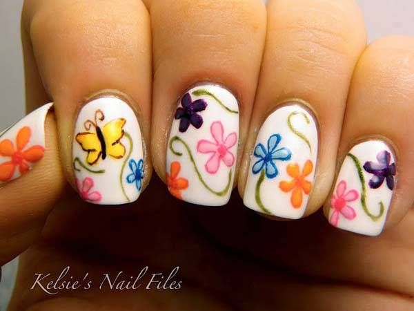 Easter 2014 Nail Art Designs Cute Hairstyles Ideas_31