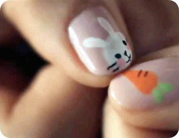 Easter 2014 Nail Art Designs Cute Hairstyles Ideas_32