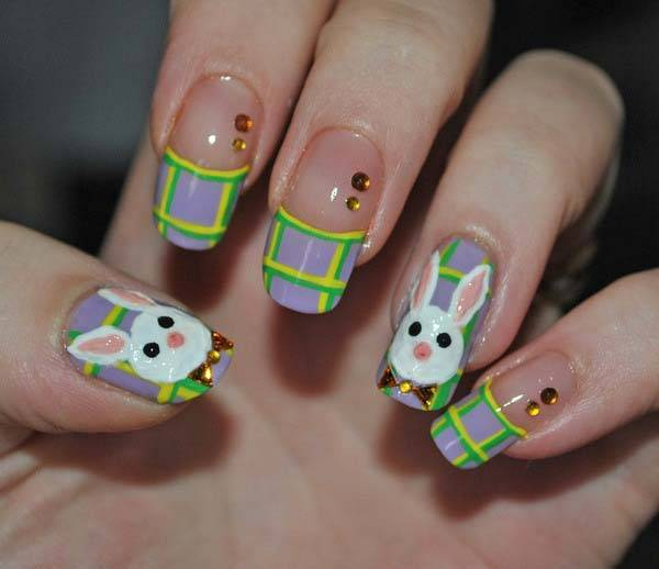Easter 2014 Nail Art Designs Cute Hairstyles Ideas_33