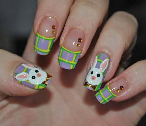 Easter 2014 Nail Art Designs