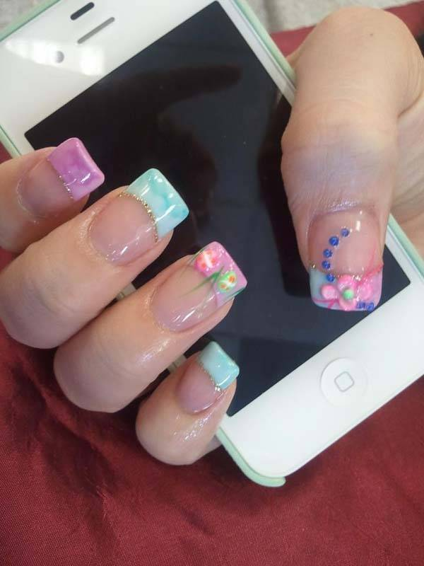 Easter 2014 Nail Art Designs Cute Hairstyles Ideas_35