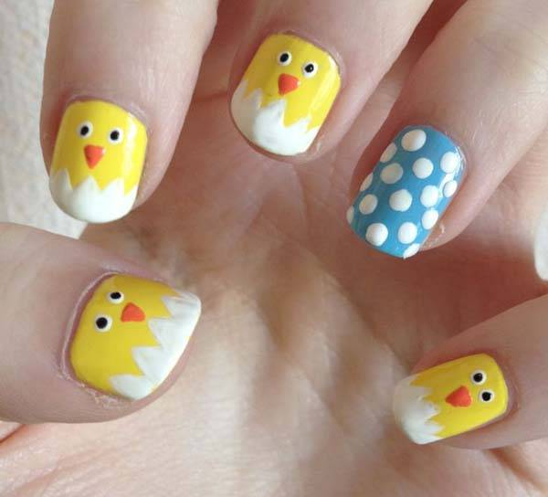Easter 2014 Nail Art Designs Cute Hairstyles Ideas_36