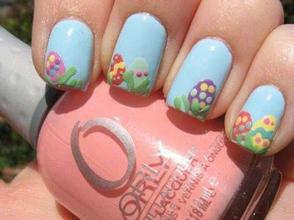 Easter 2014 Nail Art Designs Cute Hairstyles Ideas_37