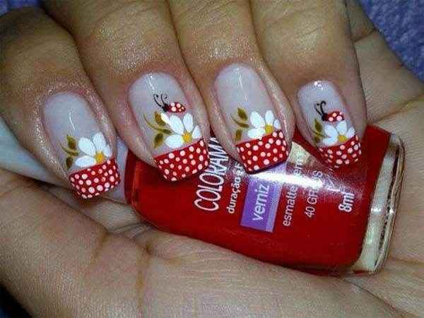 Easter 2014 Nail Art Designs Cute Hairstyles Ideas_43