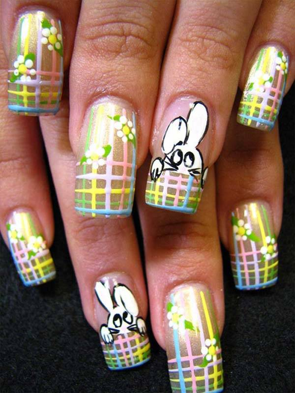 Easter 2014 Nail Art Designs Cute Hairstyles Ideas_44