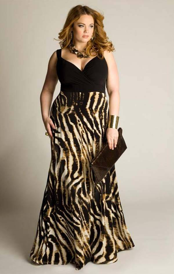 Plus Size Maxi Dresses 2014_03