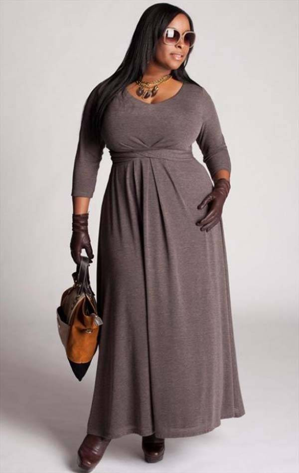 Plus Size Maxi Dresses 2014_04