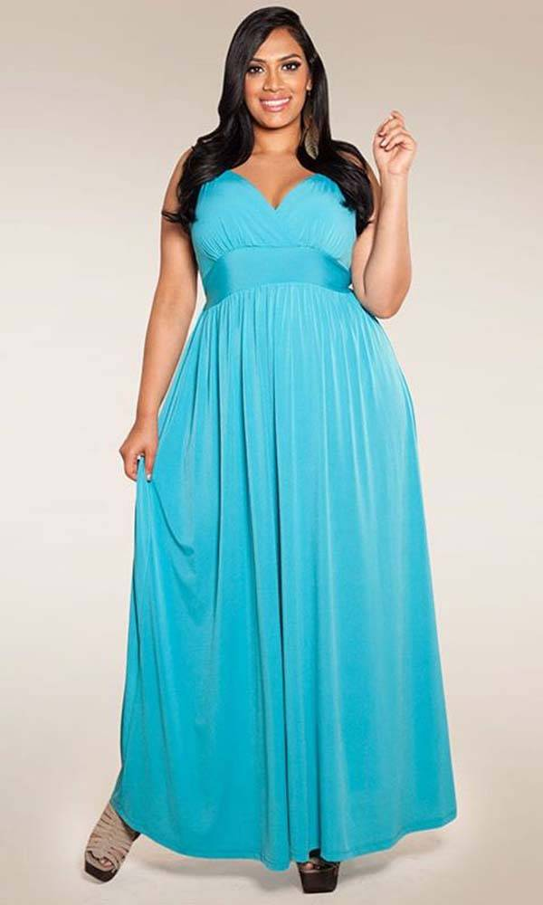 Plus Size Maxi Dresses 2014_05