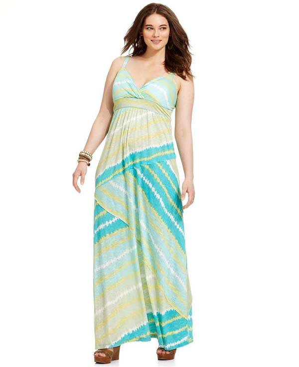 Plus Size Maxi Dresses 2014_06
