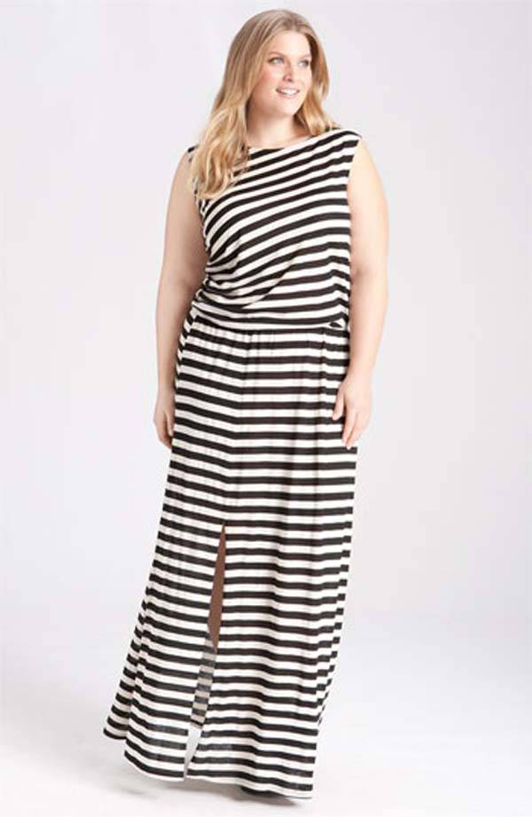 Plus Size Maxi Dresses 2014_07
