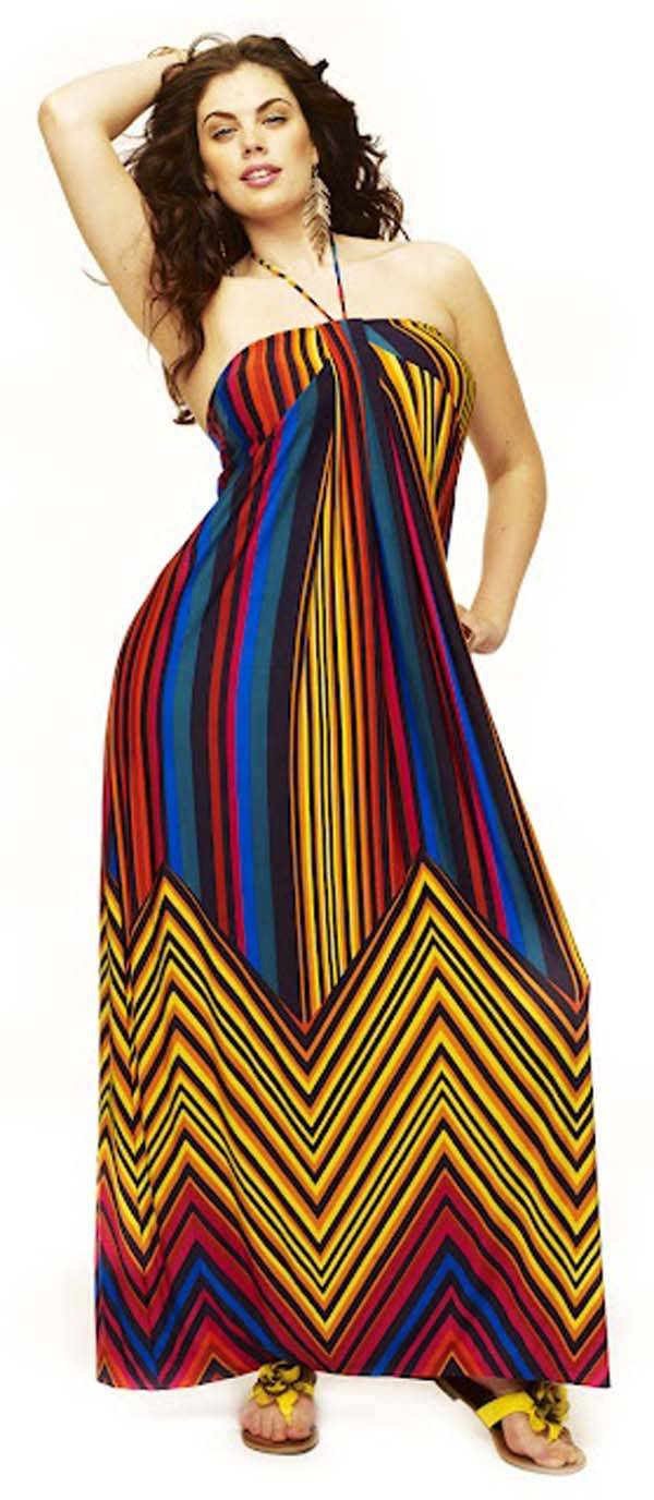 Plus Size Maxi Dresses 2014_10