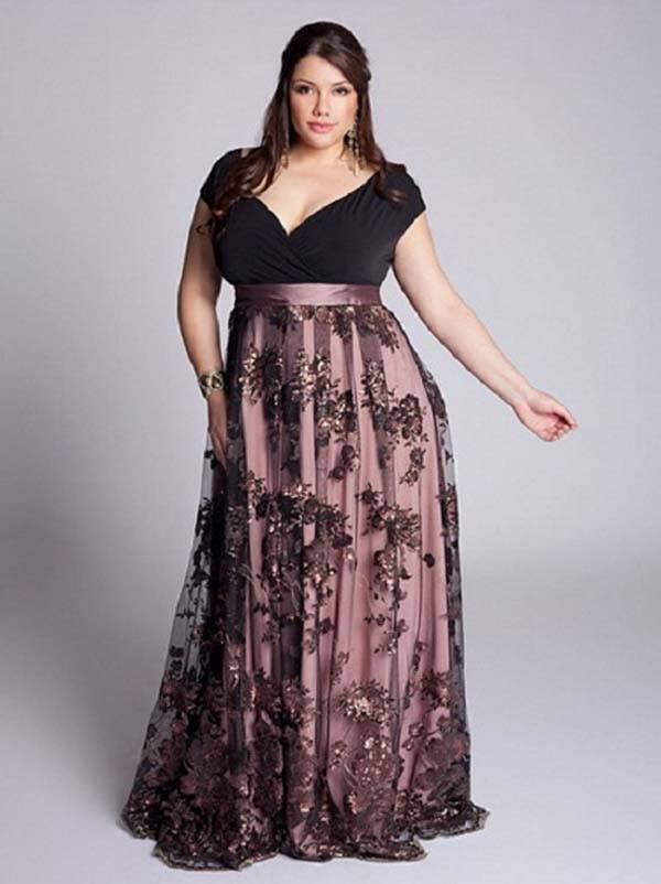 Plus Size Maxi Dresses 2014_11