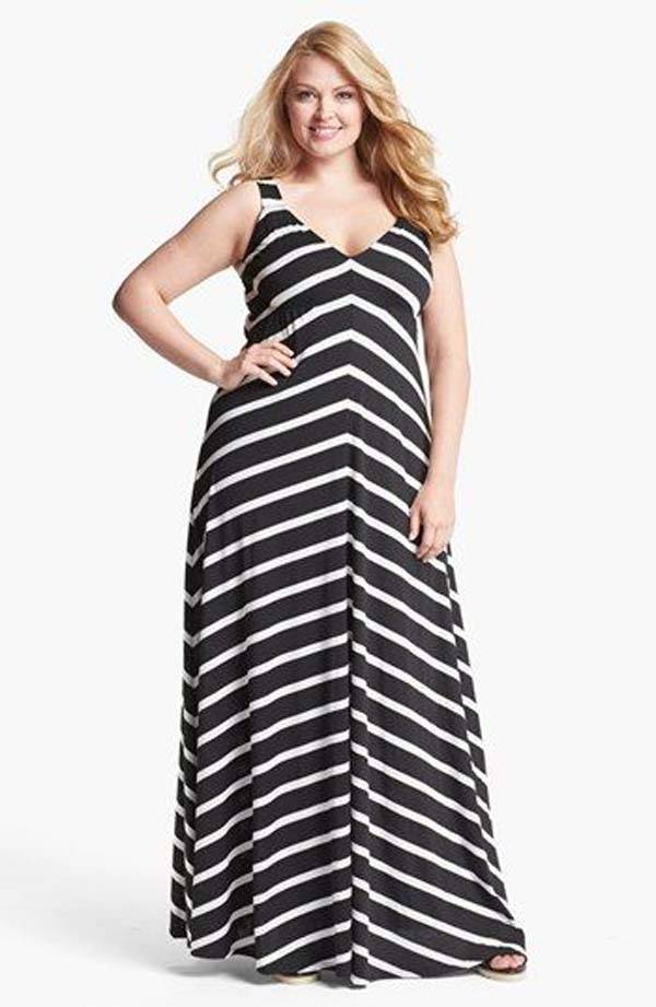Plus Size Maxi Dresses 2014_16