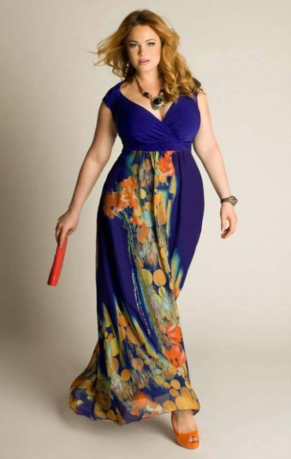 Plus Size Maxi Dresses 2014_18