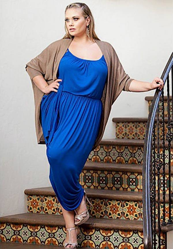 Plus Size Maxi Dresses 2014_24