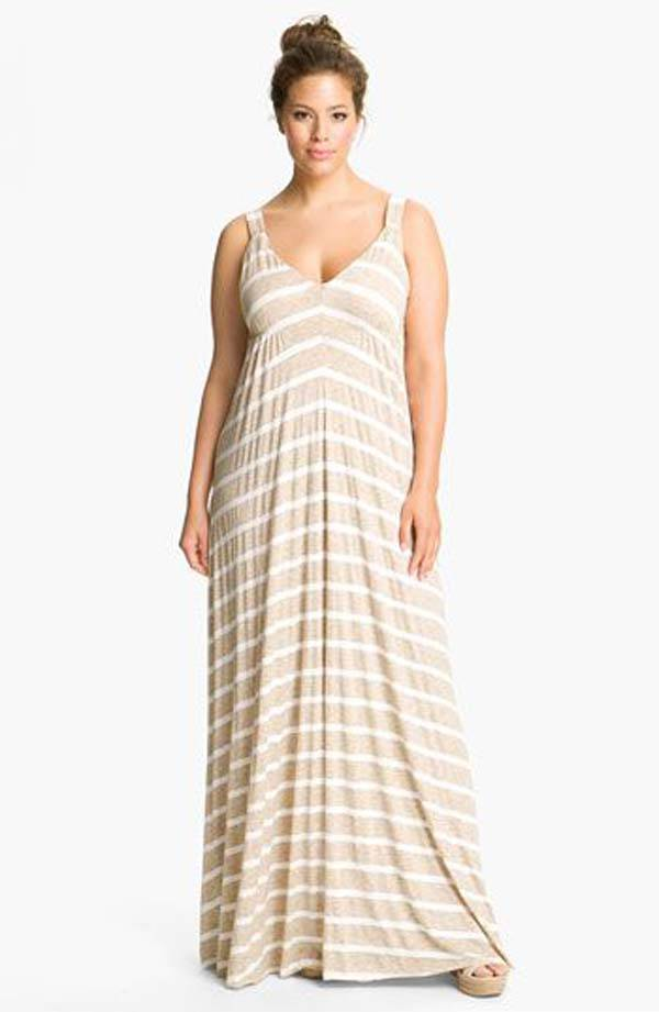Plus Size Maxi Dresses 2014_25