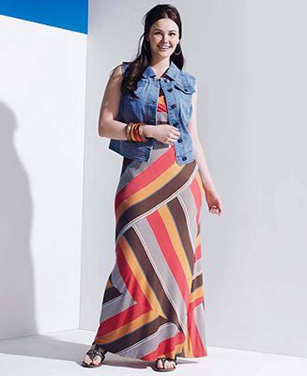 Plus Size Maxi Dresses 2014_27