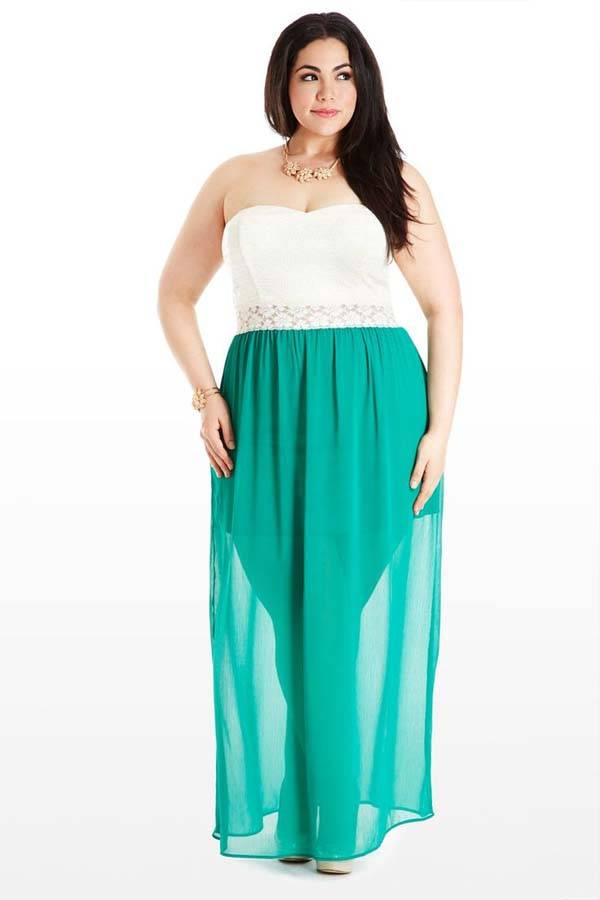 Plus Size Maxi Dresses 2014_28