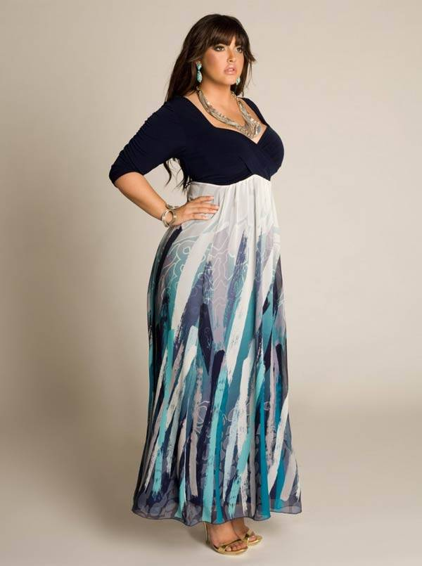 Plus Size Maxi Dresses 2014_32