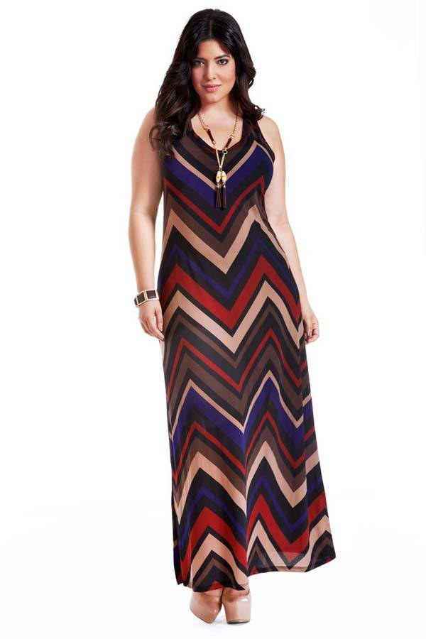 Plus Size Maxi Dresses 2014_34