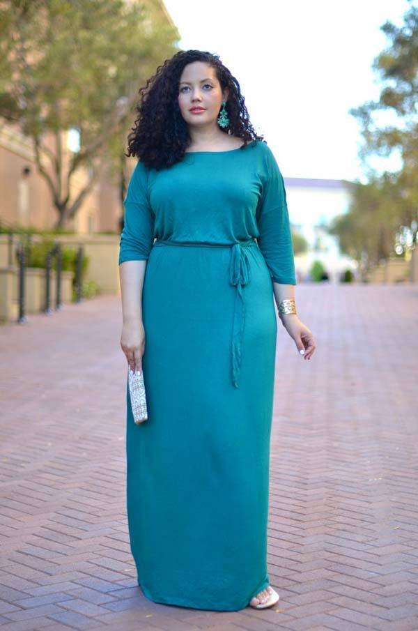 Plus Size Maxi Dresses 2014_35